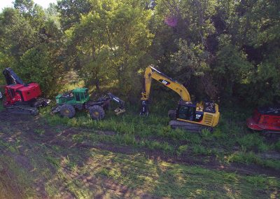 Maple Grove August 30th 2017 Machinery Arrives